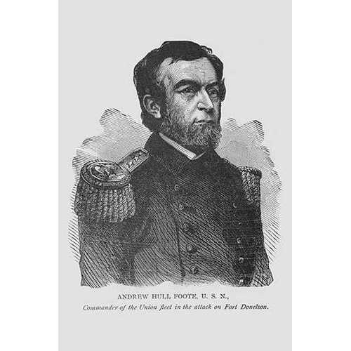 Admiral Hull Foote (Canvas Art)