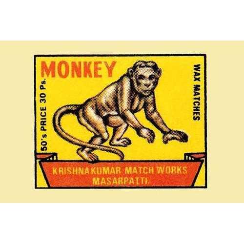 Monkey (Fine Art Giclee)