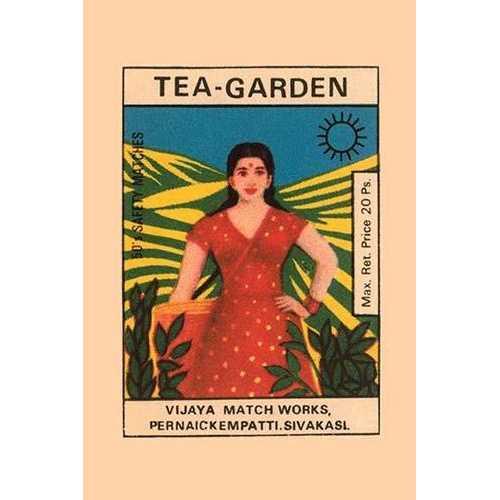 Tea Garden (Canvas Art)