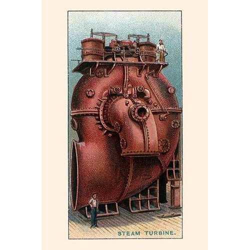 Stean Turbine (Paper Poster)
