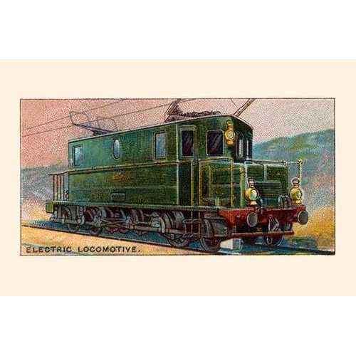 Electric Locomotive (Framed Poster)