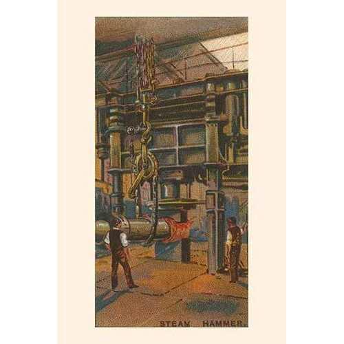 Steam Hammer (Framed Poster)