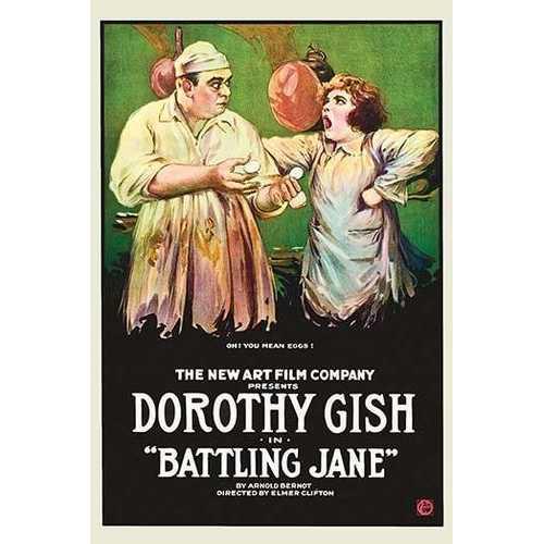 Battling Jane (Framed Poster)