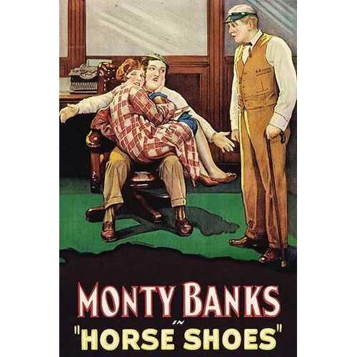 Horse Shoes (Framed Poster)