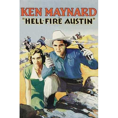 Hell-Fire in Austin (Canvas Art)