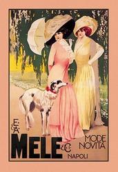 E. & A. Mele & Ci Mode Novita Napoli (Fine Art Giclee)