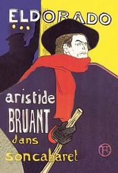 El Dorado: Aristide Bruant dans son Cabaret (Canvas Art)