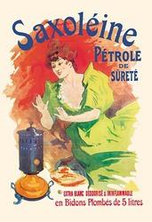 Saxoleine Petrole de Surete Extra Blanc (Framed Poster)