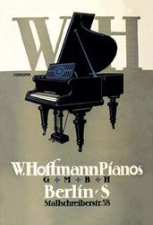 W. Hoffman Pianos - Berlin (Canvas Art)