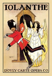 Iolanthe: D'Oyly Carte Opera Company (Paper Poster)