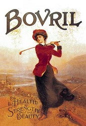 Bovril - For Health, Strength and Beauty (Paper Poster)