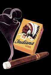 Indiana Luxe Cigars (Fine Art Giclee)