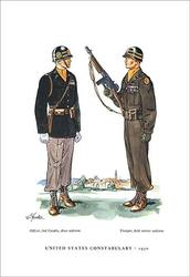 United States Constabulary, 1950 (Paper Poster)