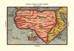 Africa Tertia Pars Terrae (Canvas Art)