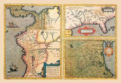 Three Maps (Canvas Art)