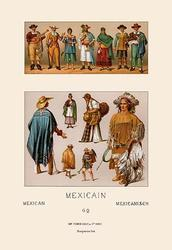 Clothing of Mexico (Canvas Art)