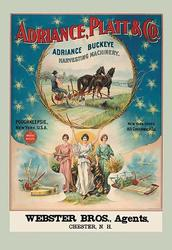 Adriance, Platt and Co., Poughkeepsie, NY (Paper Poster)