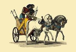 An Egyptian Chariot (Paper Poster)