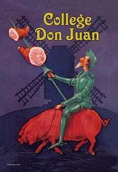 College Don Juan (Canvas Art)