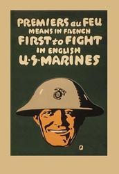 Permiers au feu (Paper Poster)