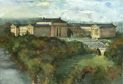 Phila Art Museum (Fine Art Giclee)