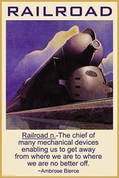 Railroad (Framed Poster)