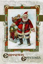Christmas Greetings (Framed Poster)