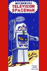 Mechanical Television Spaceman (Paper Poster)