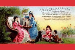 Ayer's Sarsaparilla Purifies the Blood (Canvas Art)