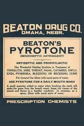Beaton's Pyrotone (Paper Poster)