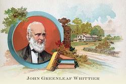 John Greenleaf Whittier (Paper Poster)