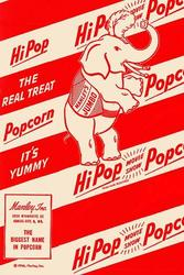 HiPop Movie Show Popcorn - The Real Treat (Paper Poster)
