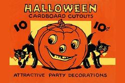 Halloween Cardboard Cutouts (Paper Poster)