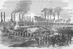 Grant's Army Near Vicksburg (Fine Art Giclee)