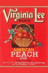 Virginia Lee American Peach Wine (Canvas Art)
