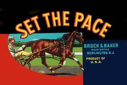 Set the Pace (Paper Poster)