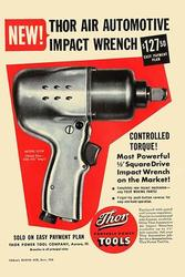 Thor Air Automotive Impact Wrench (Canvas Art)