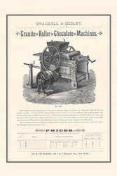 Granite Roller Chocolate Machines (Canvas Art)