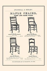 Maple Chairs (Paper Poster)