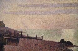 Evening, Honfleur (Canvas Art)