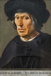 Jacob Willemsz. van Veen (1456–1535), the Artist's Father, 1532 (Fine Art Giclee)