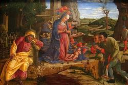 The Adoration of the Shepherds, shortly after 1451 (Fine Art Giclee)