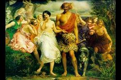 Cymon & Iphigenia (Canvas Art)