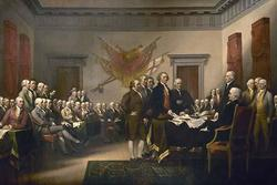 Declaration of Independence (Canvas Art)