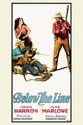 Below the Line (Framed Poster)