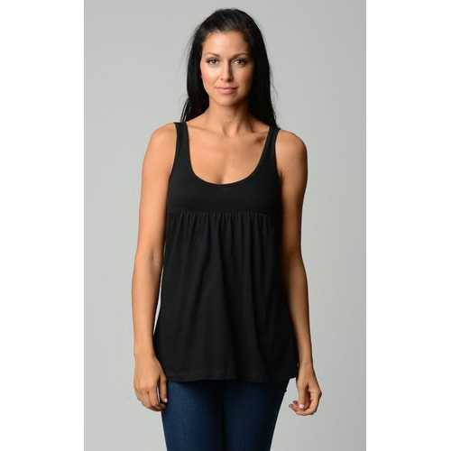 Women's Cotton Jersey V-Neck Tank
