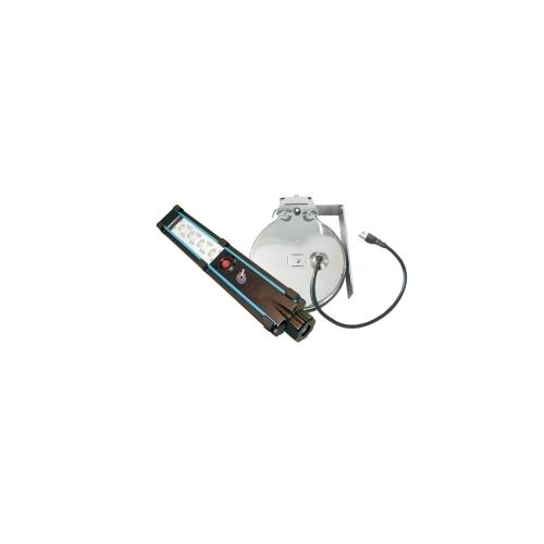 HEMITECH 4 LED 40FT/12.3M CHROME CORD REEL