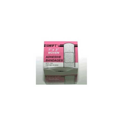 Woven Bandaids (Pack of 100) 1 in. x 3 in.