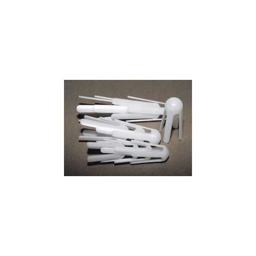 White Plastic Finger Splint Assortment (Pack of 12