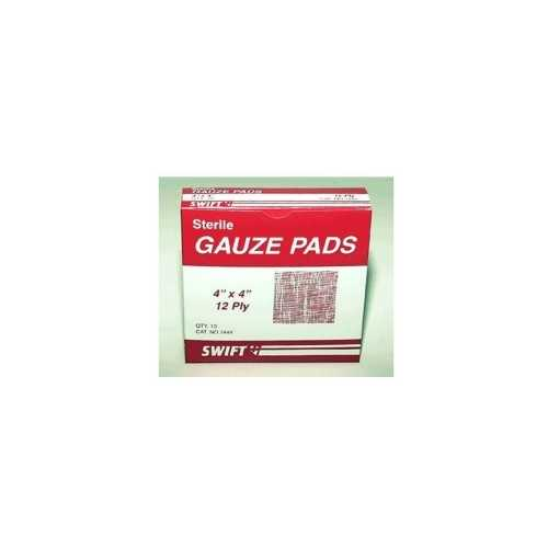 Gauze Pads 4 in. x 4 in. (Pack of 10)